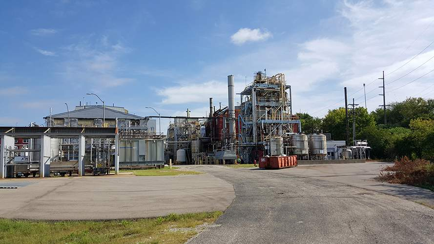 Pmc Specialties group industrial development of processes using alkylation, amidation, chlorination, diazotization, esterification, hydrogenation, nitration, oxidation and sulfonation technologies facility